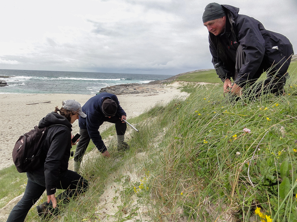 Hebridean Naturalists on Vatersay